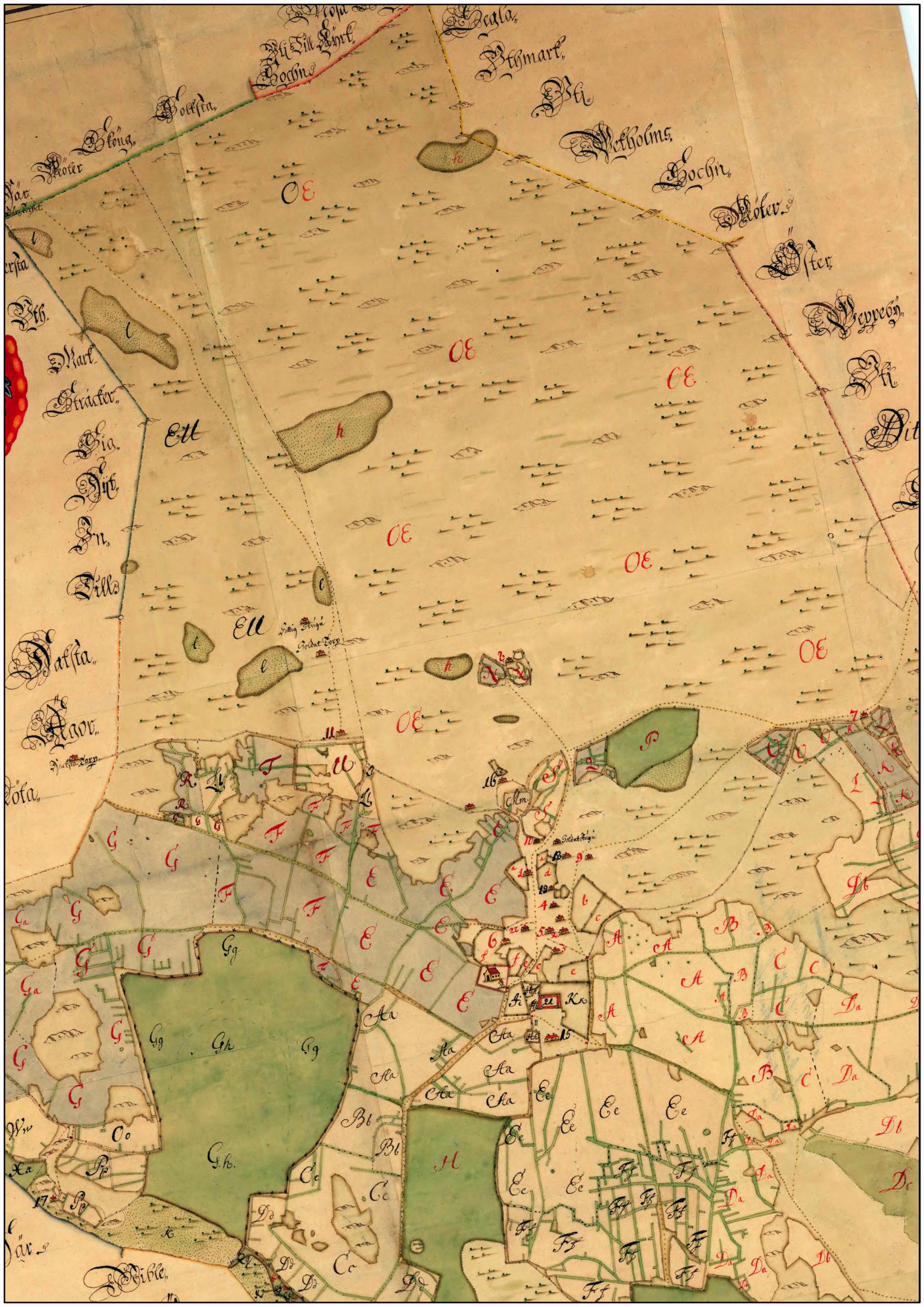 Karta från 1717